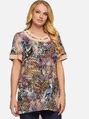 Блузка All Posa Марго 100060 64 Леопардовая от Rozetka