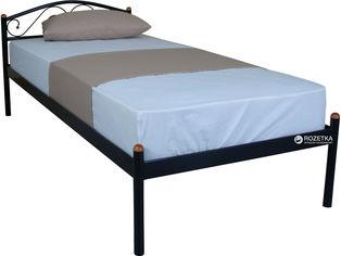 Кровать Eagle Alba 90 x 200 Black (E1762) от Rozetka