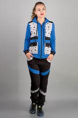 Спортивный костюм Olis-Style Анжелика 4450 48 Электрик со звездами от Rozetka