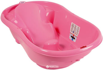 Детская ванночка OK Baby Onda New Style Розовая (38236640) от Rozetka