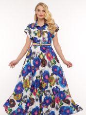 Платье VLAVI Алена 114312 52 Цветы от Rozetka