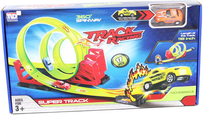 Гоночный трек Qunxing Toys Тройная петля (68803) (4812501159110) от Rozetka