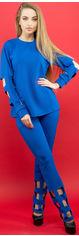 Спортивный костюм Olis-Style Блер 2411 46 Электрик от Rozetka