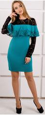 Платье Olis-Style Элис 2103 48 Бирюзовое от Rozetka