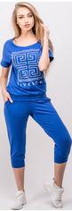 Акция на Спортивный костюм Olis-Style Амми 2476 46 Электрик от Rozetka