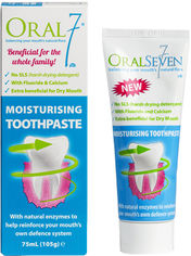 Акция на Зубная паста Oral7 Активное увлажнение и восстановление 75 мл (5060224500019) от Rozetka
