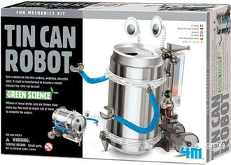 Набор для конструирования 4M Робот-жестянка (00-03270) (4893156032706) от Rozetka