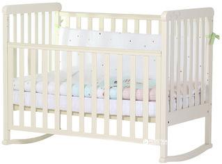 Детская кроватка-качалка Верес Соня ЛД-12 Лапки Слоновая кость (12.1.2.7.04) от Rozetka