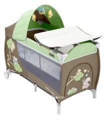 Манеж-кровать Cam Daily Plus Зеленый (L113/225) от Rozetka