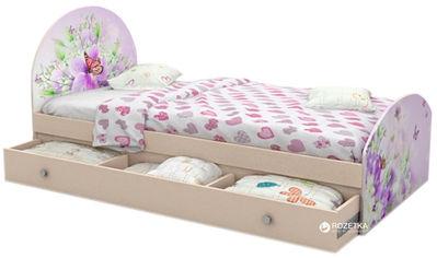 Детская кровать Вальтер Природа №3 с ящиком (PR3-7Y) от Rozetka