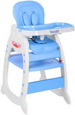 Стульчик для кормления 2 в 1 Bambi Голубой (M 3612-12 blue) (6903180073014) от Rozetka