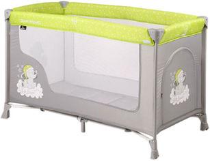 Манеж Bertoni (Lorelli) San Remo 1L Green&Grey Elephants (SAN R.1L-green&grey el.) (3800151977865) от Rozetka