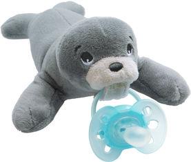 Плюшевая игрушка с пустышкой Philips AVENT Ultra Soft с 0 до 6 месяцев (SCF348/14) от Rozetka