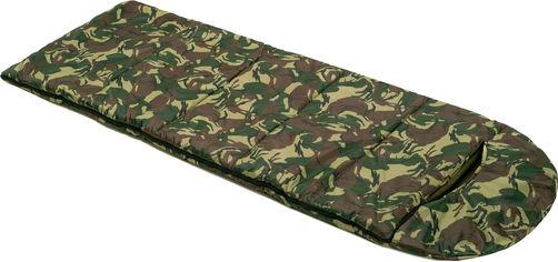 Спальный мешок одеяло Champion Winter с капюшоном Камуфляжный (TI-15-KH) от Rozetka