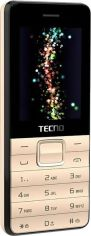 Мобильный телефон Tecno T372 TripleSIM Champagne Gold от MOYO