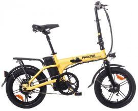 Акция на Электровелосипед Maxxter Urban PLUS Yellow/Black от Територія твоєї техніки