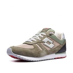Кроссовки мужские Lotto TOKYO SHIBUYA  GRAPE LEAF/COOL GRAY 7C/SAFARI BROWN L58233/1VJ от Lotto-sport