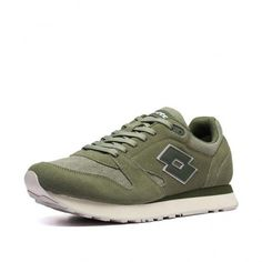 Кроссовки мужские Lotto TRAINER XV CVS  DEEP LICHEN/ALGAE GREEN 213548/5VR от Lotto-sport