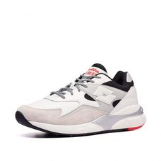 Кроссовки мужские Lotto ATHLETICA SIRIUS LTH  WHITE/VAPOR GRAY/ALL BLACK 213194/5QZ от Lotto-sport