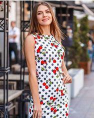 Хлопковое приталенное платье от Gepur