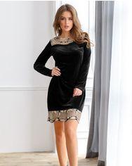 Вечернее бархатное платье от Gepur