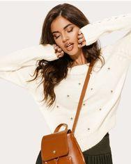 Лаконичный кожаный рюкзак от Gepur