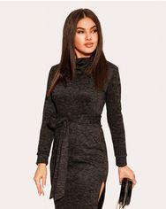 Лаконичное черное платье от Gepur