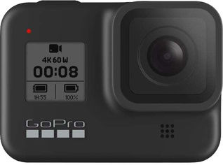GoPro HERO8 Black + Hand Grip + Head Strap Mount от Y.UA