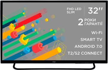 "Телевизор Ergo 32"" Full HD Smart TV (LE32CT5550AK) от Citrus"