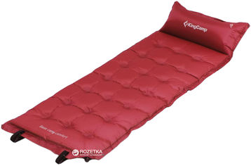 Самонадувающийся коврик KingCamp Base Camp Comfort Wine Red (KM3560 Wine red) от Rozetka