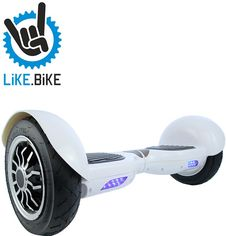 Гироборд Like.Bike X10 (Art White) от Citrus