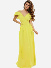 Платье ISSA PLUS 10816 L Желтое (2000294650408) от Rozetka