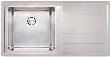 Акция на Кухонная мойка APELL Linear Plus 1000x500 LNP1001FRBC полированная правосторонняя от Rozetka