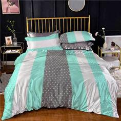 Комплект постельного белья MirSon Бязь 20-0011 Floriella 175х210 (2200001237766) от Rozetka