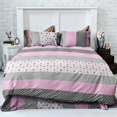 Акция на Комплект постельного белья MirSon Бязь Premium 20-0010 Emilena 143х210 (2200001237629) от Rozetka