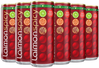 Упаковка безалкогольного напитка Laimon Fresh spicy 0.33 л х 12 шт. (4630065250032) от Rozetka