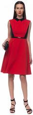 Платье GENEVIE 09643 S (44) Красное с черным (5902205179121) от Rozetka
