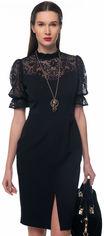 Платье GENEVIE 09639 S (44) Черное (5902205179220) от Rozetka