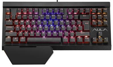 Клавиатура проводная Aula Hyperion Mechanical RGB Wired Keyboard USB (6948391221755) от Rozetka