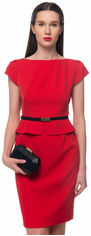 Платье GENEVIE 09642 XL (50) Красное (0301660521059) от Rozetka