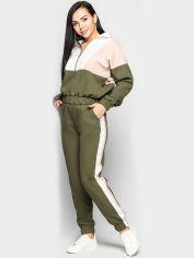 Спортивный костюм Larionoff Taylor 42 Хаки/Бежевый/Белый (Lari2000050005572) от Rozetka