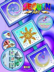 Акция на Набор для творчества Sequin Art Seasons Cosmic, Sun, Moon and Stars 16х16 см (SA1511) от Rozetka