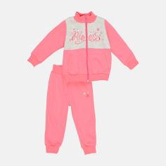 Акция на Спортивный костюм Бемби КС604 80 см Розово-серый (06604022235.3X0) от Rozetka