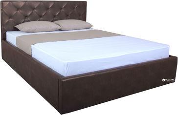 Акция на Двуспальная кровать Eagle Briz Lift 160 x 200 Brown (E2455) от Rozetka