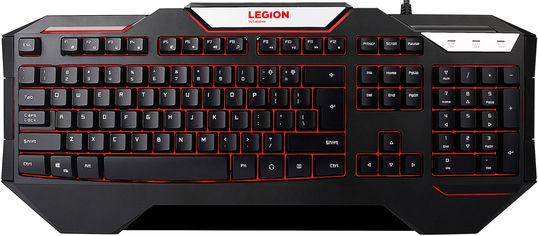 Клавиатура проводная Lenovo Legion K200 KB-RU USB Black (GX30P98215) от Rozetka