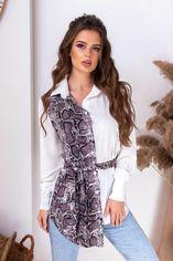 Блузка Remise Store V312 44 (M) Белая (2000000383200) от Rozetka