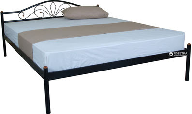 Двуспальная кровать Eagle Nero 160 x 200 Black (E2332) от Rozetka