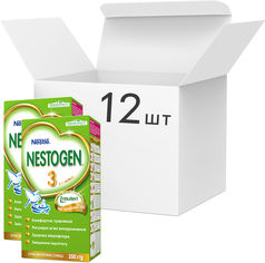 Упаковка детской смеси Nestle Nestogen 3 с 12 месяцев 350 г х 12 шт (7613032309008) от Rozetka