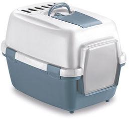 Туалет Stefanplast WivaCat 55 x 40 x 40 см Голубовато-стальной (8003507979710) от Rozetka
