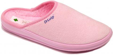 Акция на Тапочки Dr.Luigi PU-01-30-01-30-TF 37 (23 см) Розовые (856021100673) от Rozetka